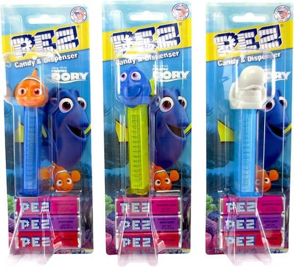Pez Finding Nemo Blister Pack