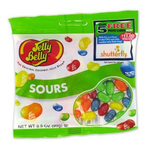 Jelly Belly Sour Jelly Beans (12 Count)