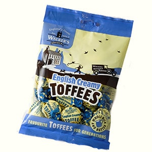 Walker's English Creamy Toffee Bag