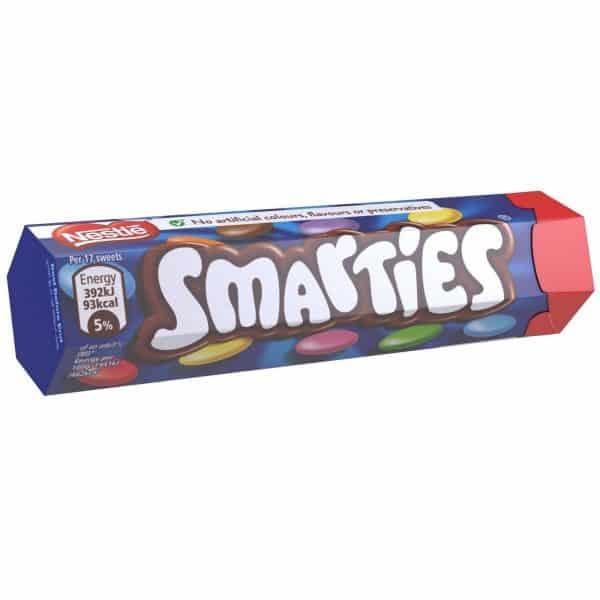 Nestle Smarties Hexatube