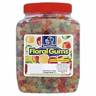Squirrel Floral Gums