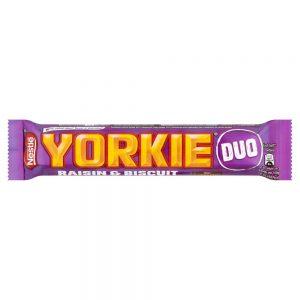 Nestle Yorkie Raisin & Biscuit Duo