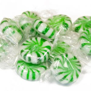 Green Pinwheel Mints