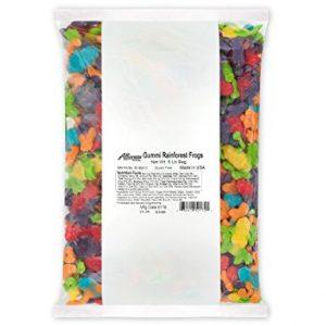 Albanese Bulk Rainbow Gummy Frogs