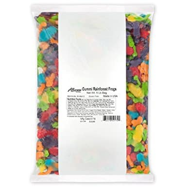 Albanese Bulk Rainbow Gummy Frogs