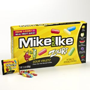 Mike and Ike Sour Fruitz