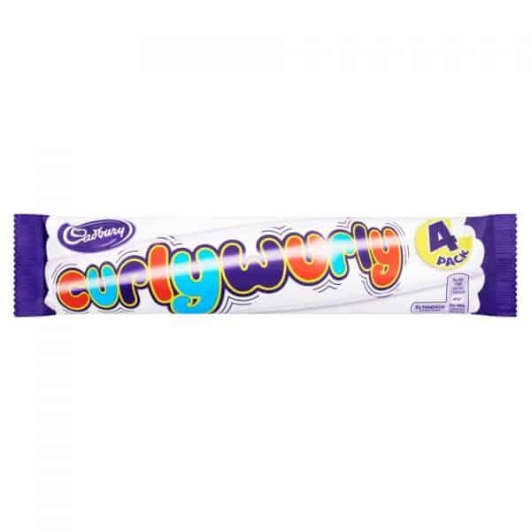 Cadbury Curly Wurly 4 Pack