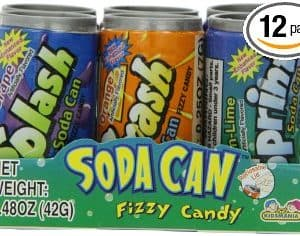 Kidsmania Soda Can Fizzy Candy