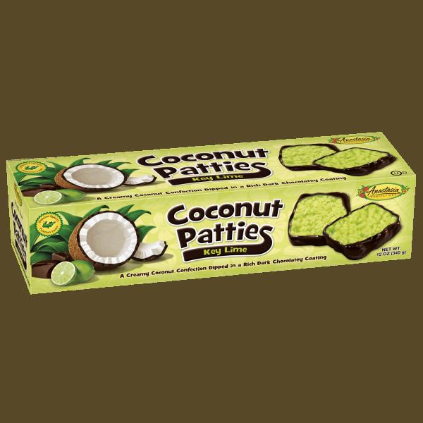 Anastasia Coconut Patties Key Lime