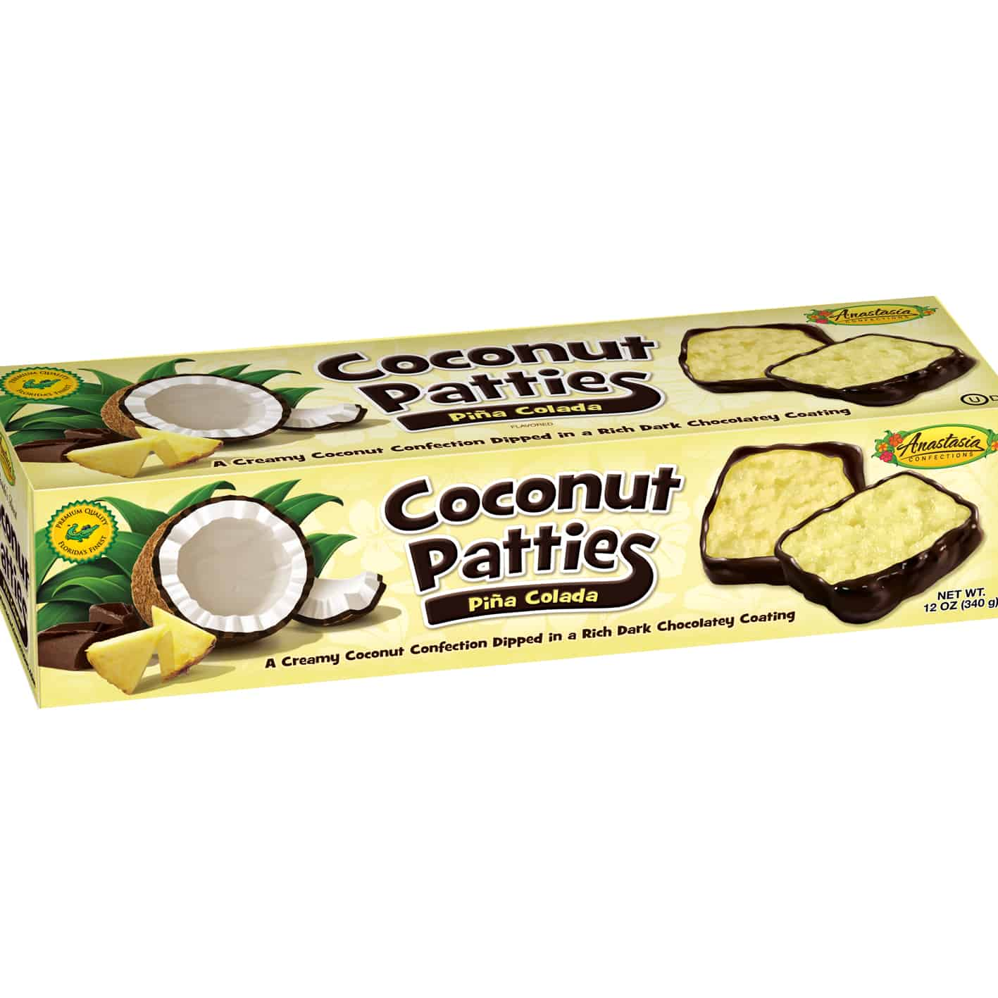 Anastasia Coconut Patties Pina Colada