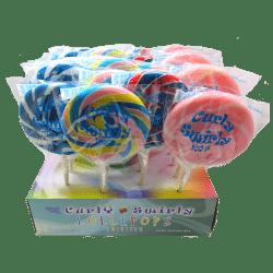 Curly Swirly Pops
