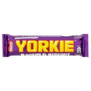 Nestle Yorkie Raisin and Biscuit