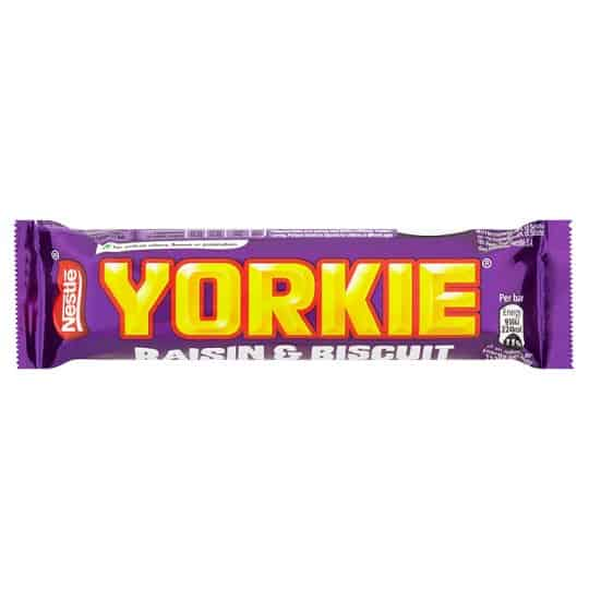 Nestle Yorkie Raisin and Biscuit