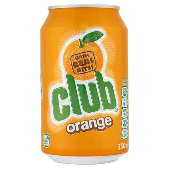 Club Orange Soft Drink