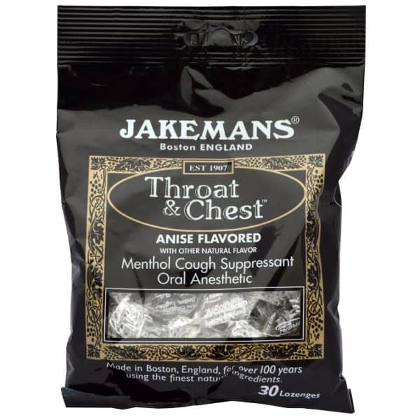 Jakeman's Throat and Chest Menthol Lozenges