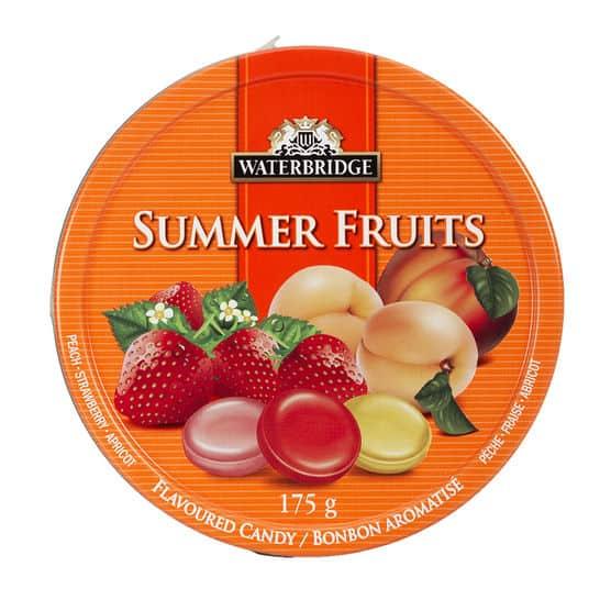 Waterbridge Summer Fruits Drops (6 x 175g)
