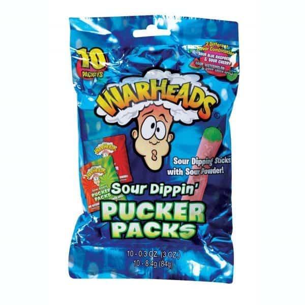 Warhead Sour Dippin Pucker Pack