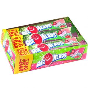 Airheads Watermelon and Strawberry