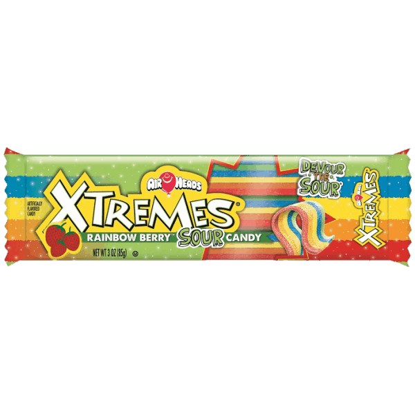 Airheads Sour Belts Extreme