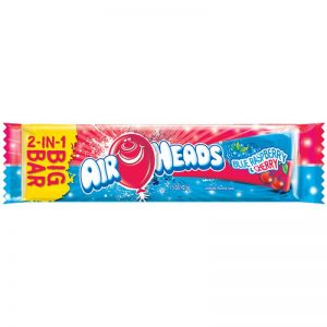 Airheads Blue Raspberry and Cherry