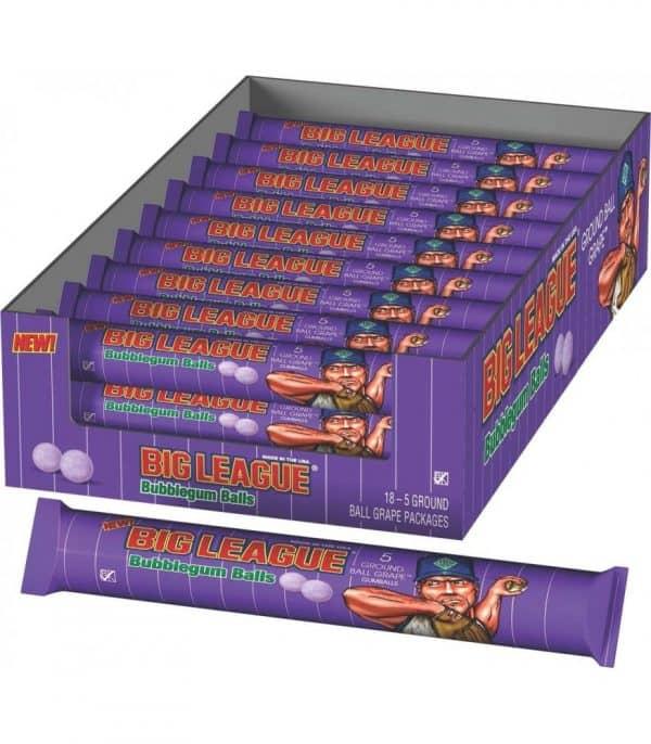 Big League Chew Grape Gumballs