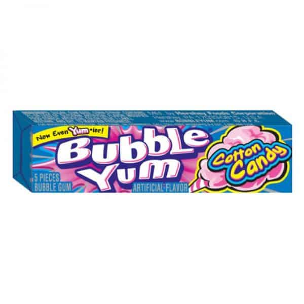 Bubble Yum Cotton Candy