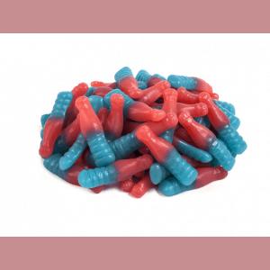 Huer Small Sour Bubblegum Bottles