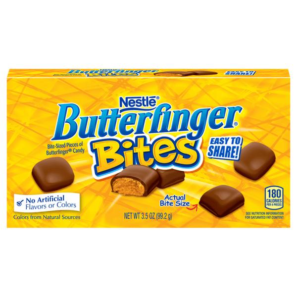 Nestle Butterfinger Bites Theatre Box