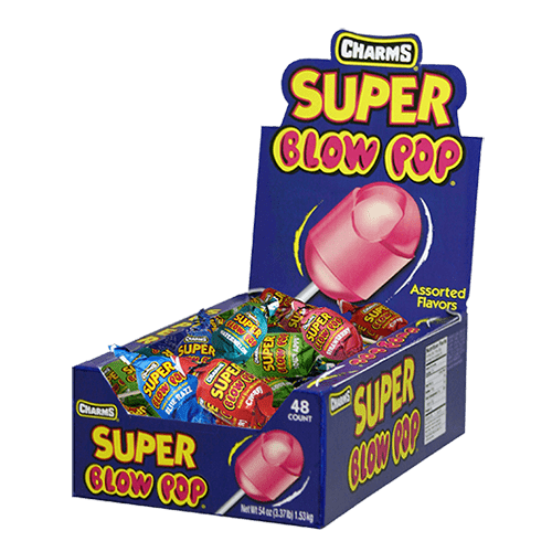 Charms Assorted Super Blow Pops
