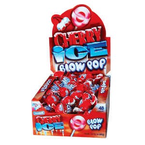Charms Cherry Ice Blow Pop (48 Count)