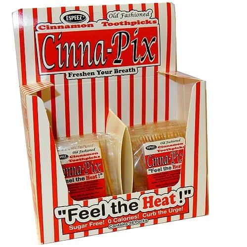 Cinna-Pix Toothpicks