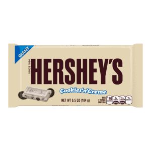 Giant Hershey's Cookies and Cream