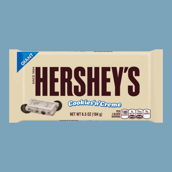 Giant Hershey's Cookies and Cream