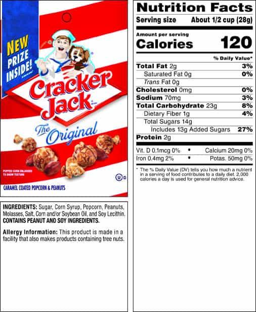 Cracker Jack Original