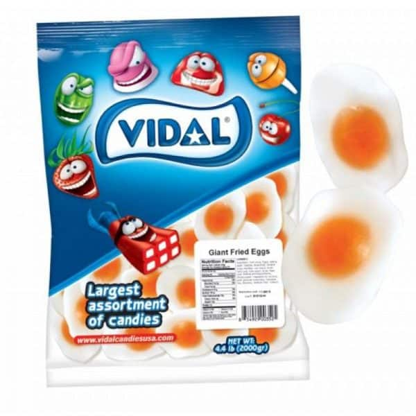 Vidal Gummy Eggs Bulk