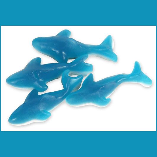 Huer Blue Gummy Sharks