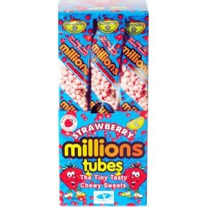 Millions Tubes Strawberry