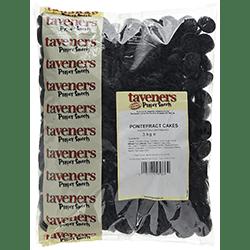 Taveners Pontefract Cakes Bulk 3 kg