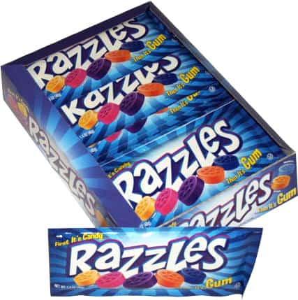 Razzles Blue