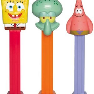 Pez Blister Sponge Bob Squarepants Pack