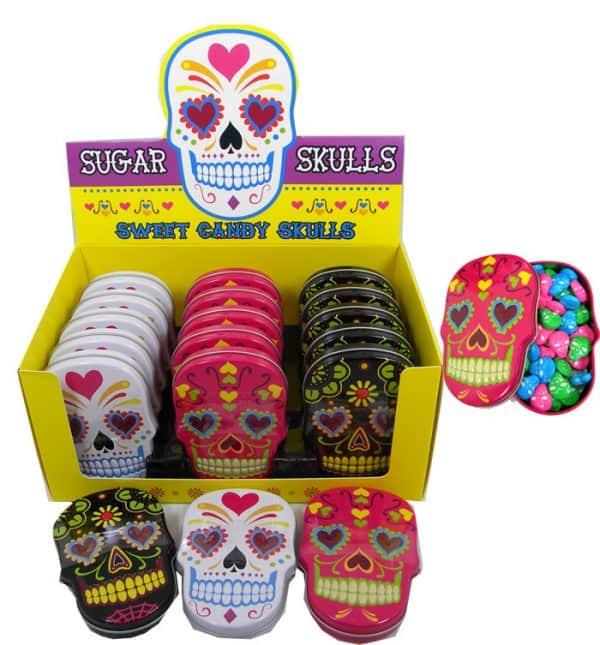 Sugar Skill Candy Tin