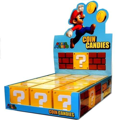 Super Mario Coin Candies