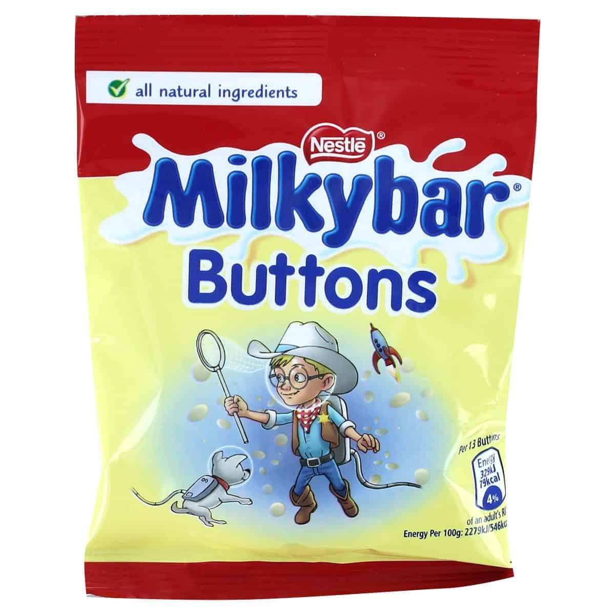 Nestle Milkybar Buttons
