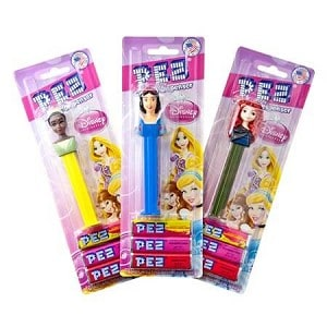 Pez Blister Disney Princess Pack