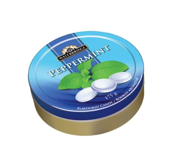 Waterbridge Peppermint Tins