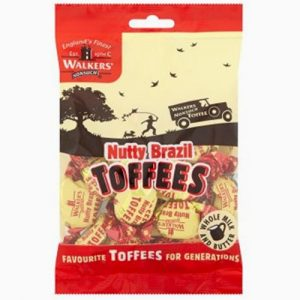 Walker's Nutty Brazil Toffee