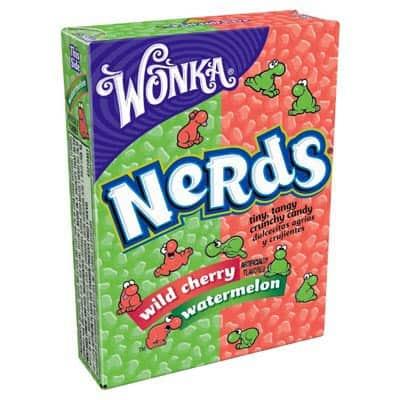 Wonka Nerds Watermelon and Cherry