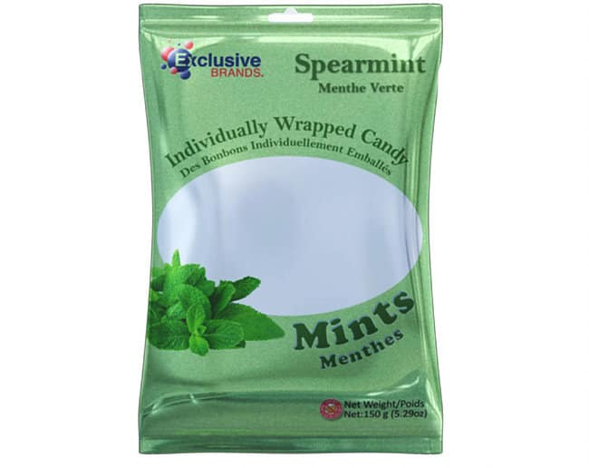 Exclusive Brands Spearmint Bags