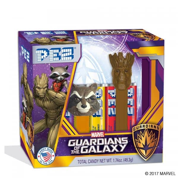 Pez Guardians of the Galaxy Twin Gift Set