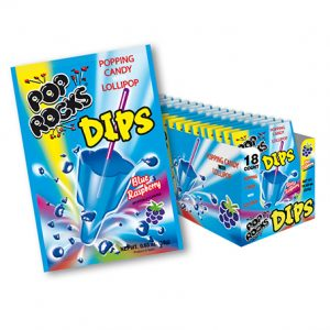 Pop Rocks Dips Blue Raspberry